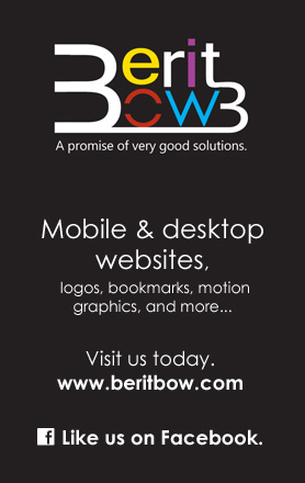BeritBow designs. Like us on facebook